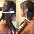 2-Minute-BUBBLE-BUN-Hairstyle-Easy-Hairstyles-for-Medium-Long-Hair