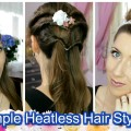 3-Quick-Easy-Spring-Hairstyles-Tutorial-Heatless-Medium-Long-Hair