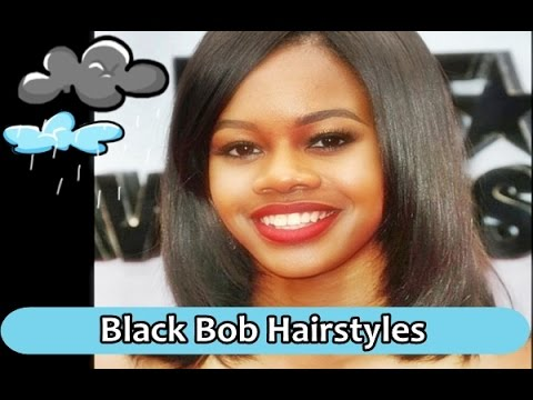 Black-Bob-Hairstyles-with-Bangs-for-Round-Faces