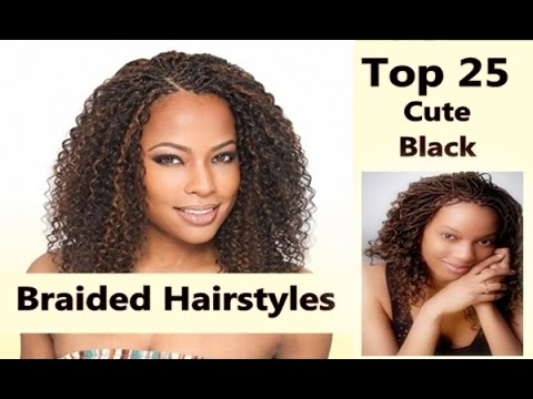 Swell 40 Best Braided Hairstyles For Black Hair Hairstylesforall Com Hairstyles For Men Maxibearus