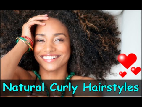 Cute-Hairstyles-for-Natural-Curly-hair-for-Black-Women