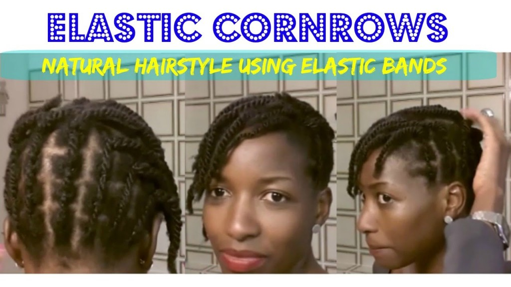 Elastic Cornrows Rubber Bands For Natural Hairstyles Protective