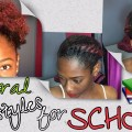 Hairstyles-for-School-Short-Natural-Hair