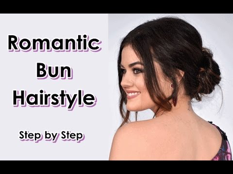 How-To-Get-easy-Romantic-Bun-Hairstyle-in-Minute