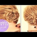 Lazy-girl-hairstyles-HIDDEN-ROSETTE-BRAID-BUN-TUTORIAL-PT-1-CUTE-HAIRSTYLES-FOR-MEDIUM-LONG-HAIR