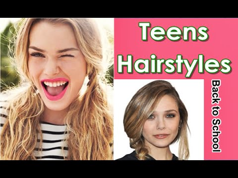 Simple-Cute-Back-to-School-Hairstyles-for-Teens