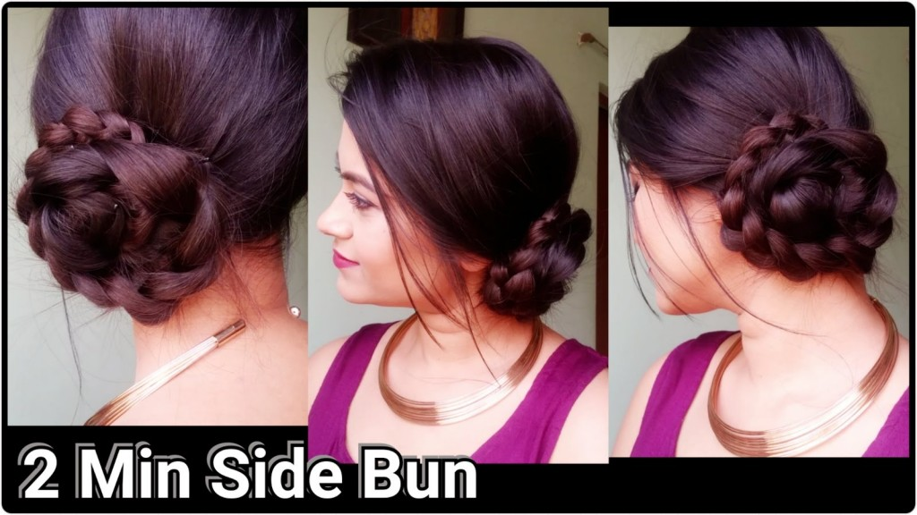 Indian hairstyles for long hair for parties