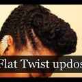Beautiful-Flat-Twist-updos-Flat-Twist-bun-hairstyles-for-African-women