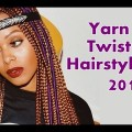 Beautiful-Yarn-with-Braids-Wraps-Locs-Twist-Wraps-Dreads-hairstyles