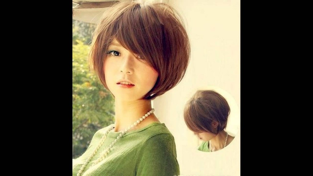 best asian short hairstyles for round faces 2012