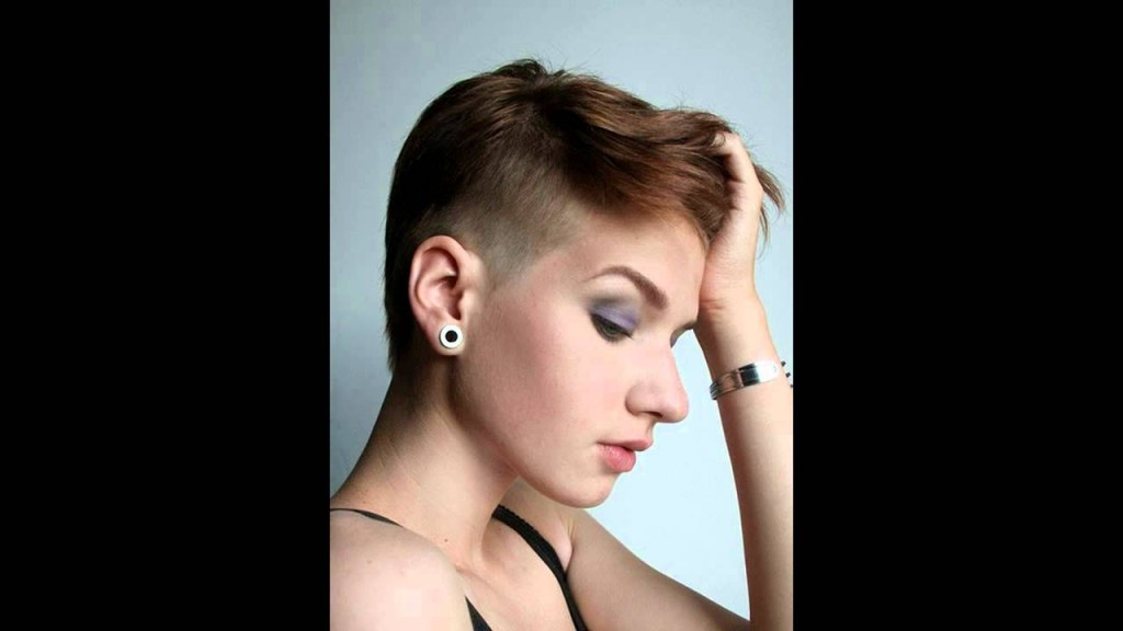 Best Womens Short Hairstyles With Shaved Sides Short Hair With