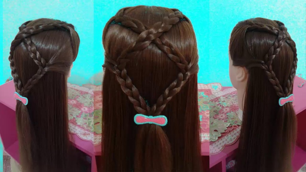 Hairstyles For Medium And Long Hair For School Girls American - Hairstyles for dolls with long hair