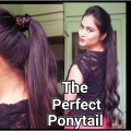 How-To-The-Perfect-Ponytail-without-teasinghairsprayEasy-indian-hairstyles-for-mediumlong-hair