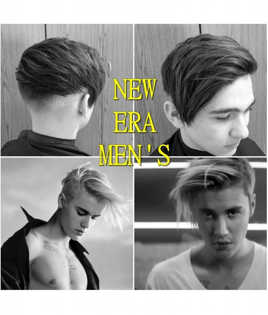 Mens New Summer Era Haircut Messy Style Inspired Justin Bieber