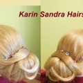Wedding-hairstyle-tutorial-Low-Updo-Elegant-bun-Bridal-Prom-for-long-medium-hair