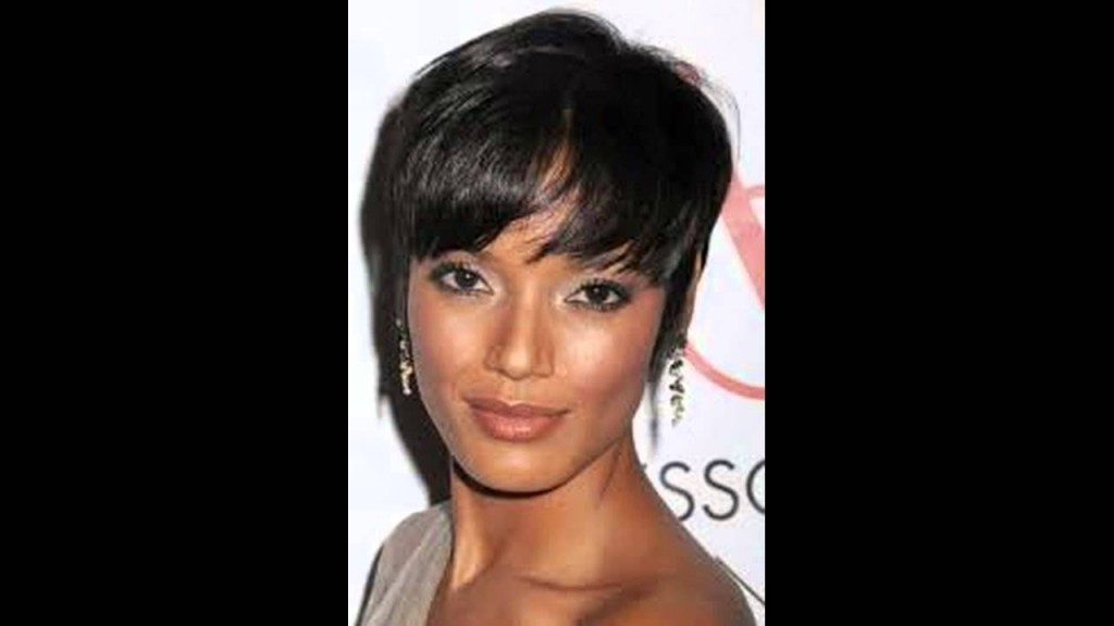 Black Hairstyles Short On One Side Long On The Other