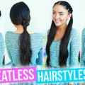 HEATLESS-HAIRSTYLES-For-School-Work-Quick-Easy-2016