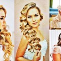 Jaw-Dropping-Long-Wavy-Braided-Curly-Wedding-Hairstyle-for-Women