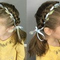 Pigtails-with-Woven-Ribbon-Headband-Short-Medium-or-Long-Hairstyle