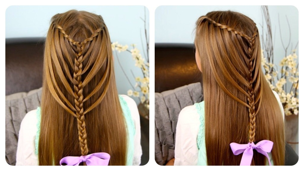 Remarkable Quick Amp Easy Beautiful Hairstyles For School Cute Back To School Hairstyle Inspiration Daily Dogsangcom