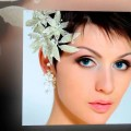 Short-Hairstyles-for-women-with-round-faces-Wedding
