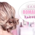 Super-easy-updo-hairstyle-Medium-long-hair-tutorial-for-promwedding