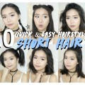 10-Hairstyles-for-SHORT-HAIR-FAST-EASY