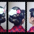 Bumper-Bangs-and-Rolled-Updo-Fancy-Vintage-Hairstyle-for-Long-Hair