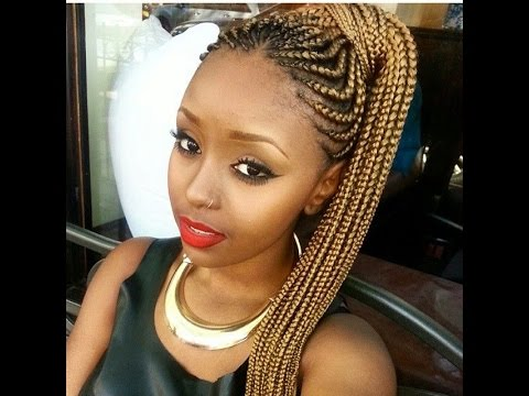 CUTE BRAIDED HAIRSTYLES FOR BLACK GIRLS: 2016 HAIRSTYLE ...