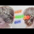 EASY-HAIRSTYLE-LACE-BRAID-BUN-Awesome-Hairstyles