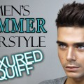MENS-SUMMER-HAIRSTYLE-Texured-Quiff-FT.-MISTER-POMPADOUR
