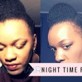 Night-Time-Routine-Shedding-Knots-Moisture-Caring-for-Thinning-Hair-Fine-Natural-Hair-Updo