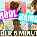Back-To-School-Heatless-Hairstyles-2016-No-Heat-Easy-Quick-5-minute-Hairstyles-For-School