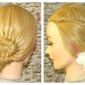 Braided-Hairstyle-For-Medium-Long-Hair-Wedding-Hairstyle