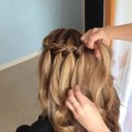 Braided-up-do-hairstyle-for-medium-long-hair-tutorial
