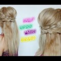 CUTE-HAIRSTYLE-HAIR-TUTORIAL-HALF-UPDO-WITH-BRAIDS-Awesome-Hairstyles