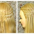 Hairstyles-for-PromWaterfall-Braided-Hairstyle