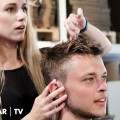 Mens-short-hairstyle-Professional-haircutting-How-to-style-mens-hair