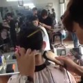 Professional-haircut-highlight-mens-short-hairstyle