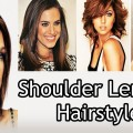 Shoulder-Length-Haircuts-for-Round-Faces-with-Bangs