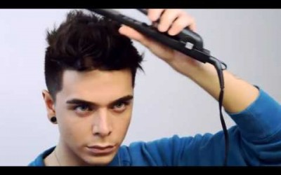 WAVY-SPIKES-Messy-Men-s-Hairstyle-Tutorial-FT-MISTER-POMPADOUR