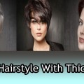 Best-Summer-Short-Hairstyle-for-Thick-Hair-and-Oval-face
