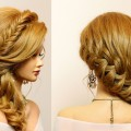 Braided-hairstyle-for-party-everyday.-Long-hair-tutorial