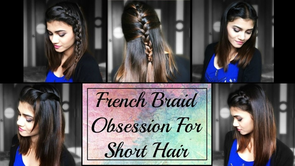 Cute French Braid Hairstyles For Short Hair Hairstylesforall Com
