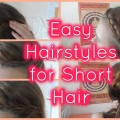 Easy-Hairstyles-for-ShortMedium-Hair-HOW-TOTUTORIAL