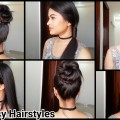 Everyday-Quick-Easy-Hairstyles-indian-hairstyles-for-mediumlong-hair-for-schoolcollegework