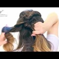 Pretty-French-Fishtail-Briad-Hair-Style-Tutorial-By-Girls-Fashion-Tips