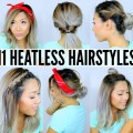 11-EASY-HEATLESS-HAIRSTYLES-FOR-SHORT-LONG-HAIR-Under-5-Mins-Back-to-School-Labor-Day