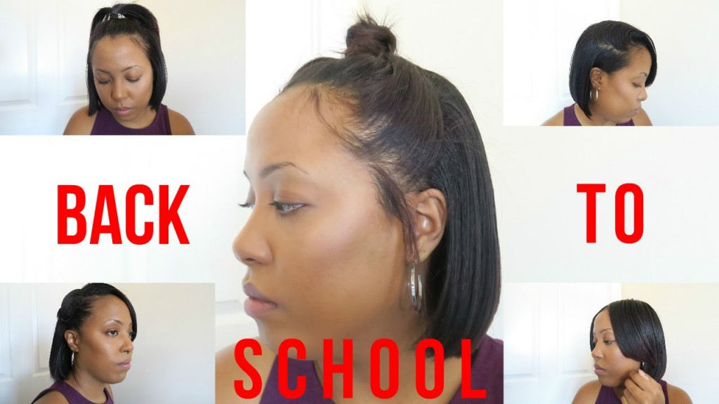 Back To School Hairstyles For Short Natural Hair