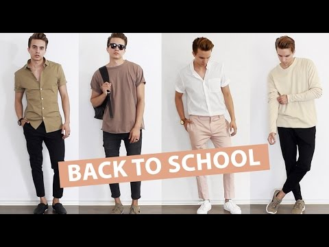 Back To School Men S Fashion Ideas Essentials Style Tips 2016
